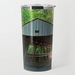 The Covered Bridge at Wildwood Travel Mug