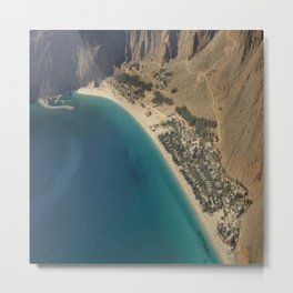 six senses hotel in zighy bay Oman Metal Print