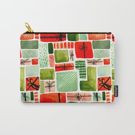 That's A Wrap! Holiday Wrapping Paper Pattern Carry-All Pouch
