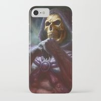 skeletor iPhone & iPod Cases featuring Skeletor by ImmarArt