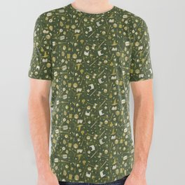 RPG Patterns All Over Graphic Tee