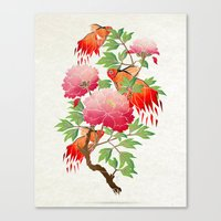goldfish Canvas Prints featuring goldfish by Manoou