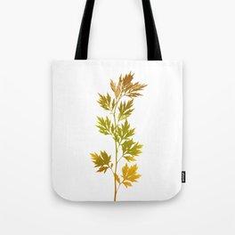 the herbarium yellow Tote Bag