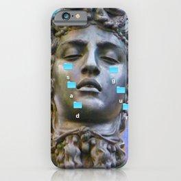 Sad Gurl Aesthetics iPhone Case