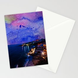 Skies & stars over Nerja Stationery Cards