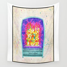 Cubist Tropic Aire Wall Tapestry
