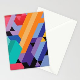Flat Geometry 01 Stationery Cards