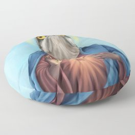 Potoo Jesus Floor Pillow