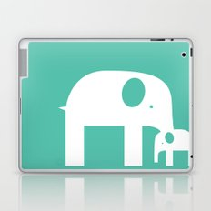 Blue Elephants Laptop & iPad Skin