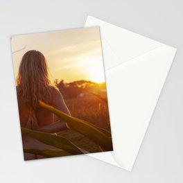 Sunset zen Stationery Cards
