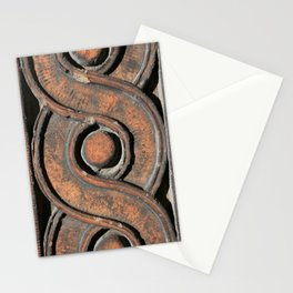 Guilloche Architectural Detail  Stationery Cards