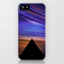 ESCAPE - Pyramids Silhouette iPhone Case