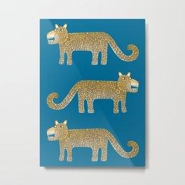 Jaguar Evenings Metal Print