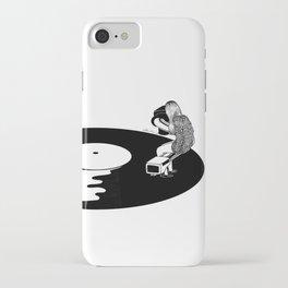Don't Just Listen, Feel It iPhone Case