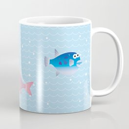 Snapper, Squid, Globefish and Wave Coffee Mug