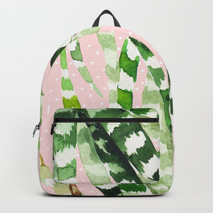 CACTUS WATERCOLOR 02 Backpack