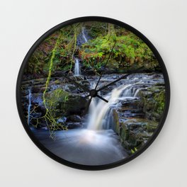 Woodland Falls Wall Clock