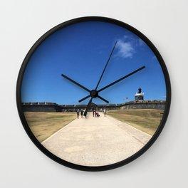 San Felipe del Morro Fortress Wall Clock
