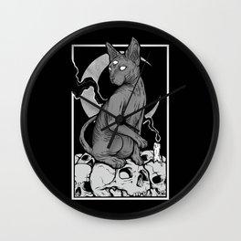 Occult Cat Wall Clock
