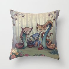 Sancta Sanctorum  Throw Pillow