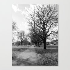 The Lonely Alley Canvas Print