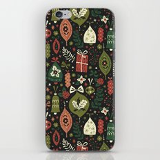 Holiday Ornaments iPhone Skin
