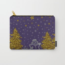 Beautiful glitter New Year Carry-All Pouch