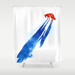 A distant memory Shower Curtain