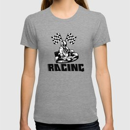 go kart racing for every kart lover and racer T-shirt