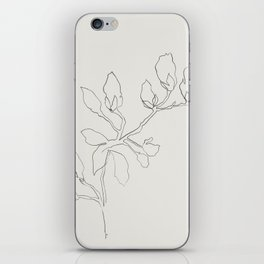 Floral Study No. 3 iPhone Skin