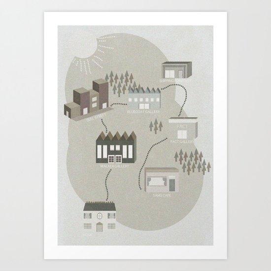 City Travels Art Print