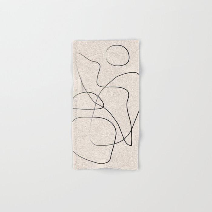 Abstract Line I Hand & Bath Towel