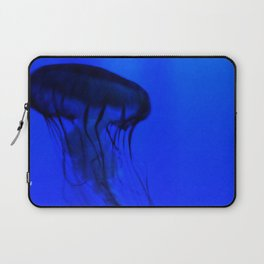 Jellyfish in the Deep Blue Laptop Sleeve