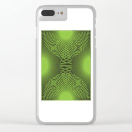 Tall Grass Nights Clear iPhone Case