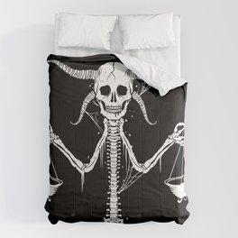 Libra (No Text) Comforters