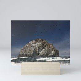 Face Rock Mini Art Print