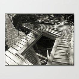 You Can Never Really Go Home Again Canvas Print