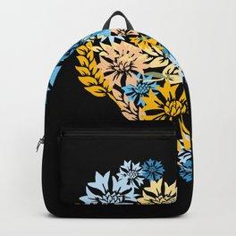 Cornflower and Wheat Heart Backpack