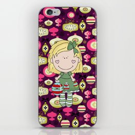 The Cute Little Ornament Girl iPhone Skin