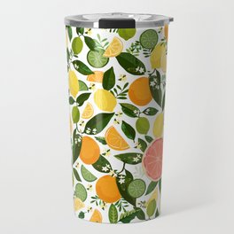 Punch Bowl Pattern Travel Mug