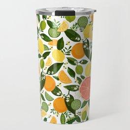 Punch Bowl Pattern Travel Mug