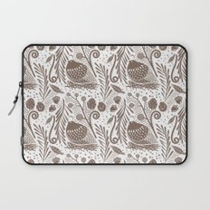 California Quail (Cocoa) Laptop Sleeve