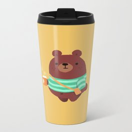 Brown bear mug, bag, and more Metal Travel Mug