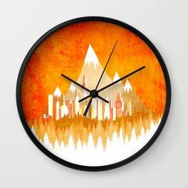 Sunny Nature Wall Clock