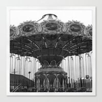 neverland Canvas Prints featuring Neverland by Zooey Petunia