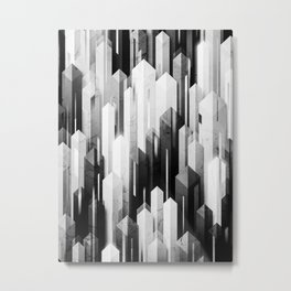 obelisk posture 3 (monochrome series) Metal Print