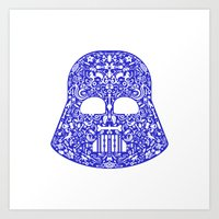 darth Art Prints featuring Darth by Pirates Office