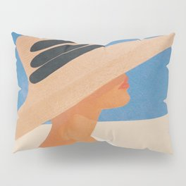 Summer Hat Pillow Sham