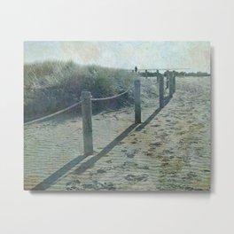 Old worlde beach scene Metal Print