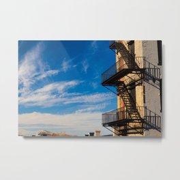 Staircase Shadows Metal Print